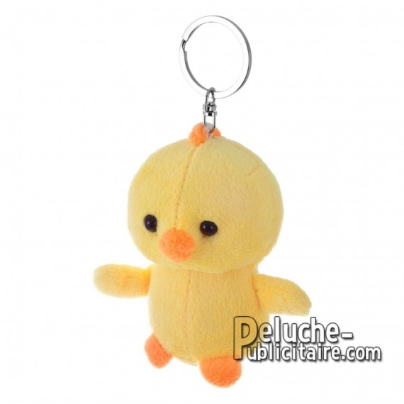 Buy Plush Keychain Chicken 10 cm. Plush Advertising Chicken to Personalize. Ref: XP-1223