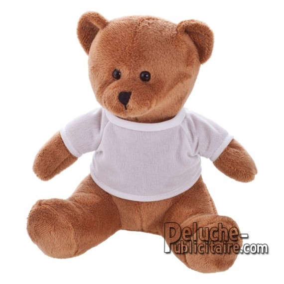 Purchase Bear Plush 19 cm. Plush Advertising Bear to Personalize. Ref: 1224-XP