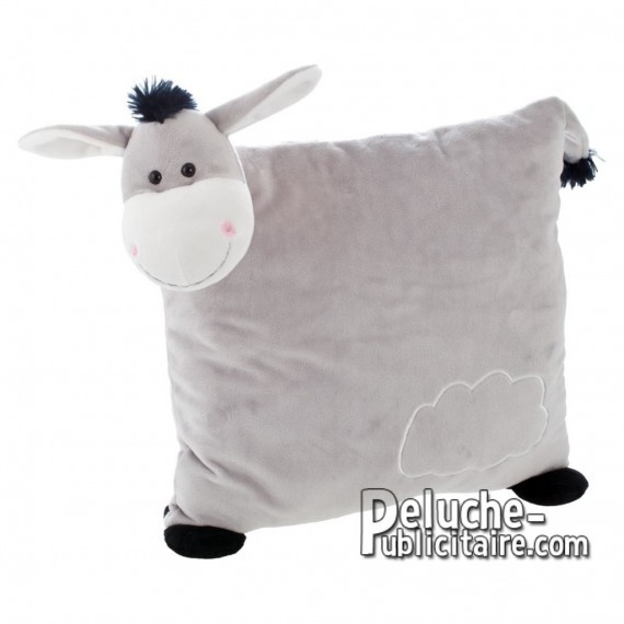 Buy Plush pillow donkey 30 cm.Plush Advertising Pillow Donkey Personalized.Ref: XP-1226
