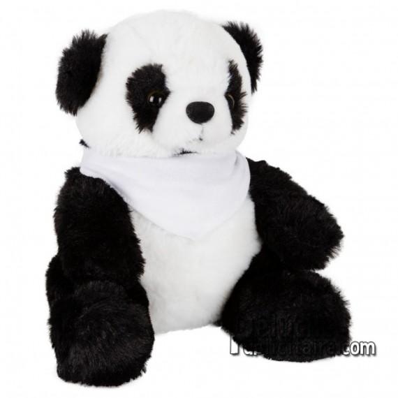 Achat Peluche Panda 18 cm. Peluche Publicitaire Panda à Personnaliser. Ref:XP-1230