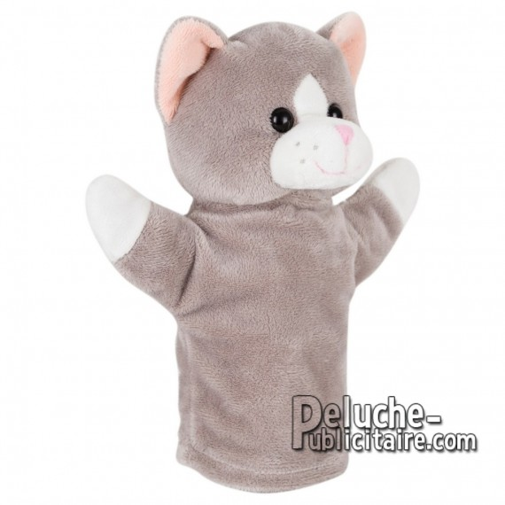 Purchase Stuffed cat Marionette 23 cm. Plush Advertising Cat Marionette Personalized. Ref: 1232-XP