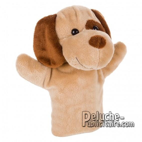 Achat Peluche Marionette chien 23 cm. Peluche Publicitaire Marionette chien à Personnaliser. Ref:XP-1233