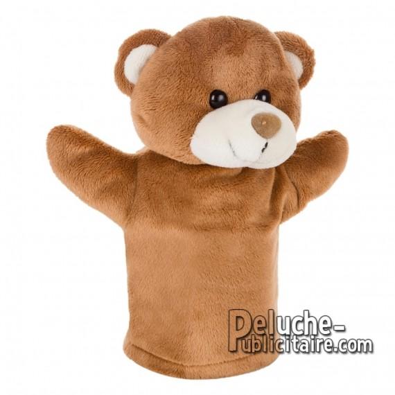 Achat Peluche Marionette ours 23 cm. Peluche Publicitaire Marionette ours à Personnaliser. Ref:XP-1234
