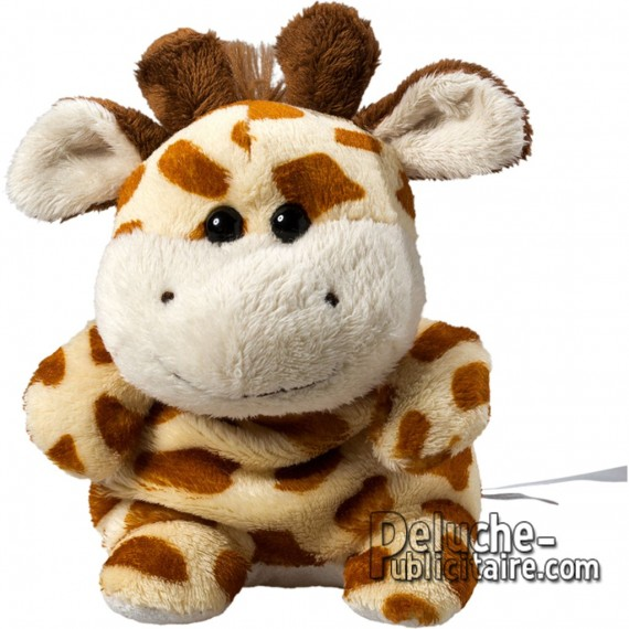 Achat Peluche Girafe Uni. Peluche à Personnaliser.