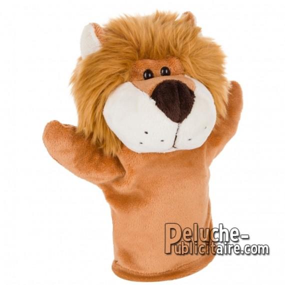 Achat Peluche Marionnette lion 23 cm. Peluche Publicitaire Marionnette lion à Personnaliser. Ref:XP-1236