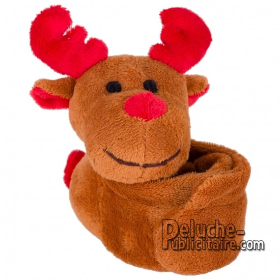 Buy Plush Reindeer Bracelet 25 x 9 cm. Plush Advertising Reindeer Bracelet Personalized. Ref: 1241-XP