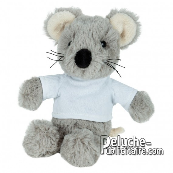 Buy Plush mouse 21 cm. Plush Advertising Mouse to Customize. Ref: XP-1242