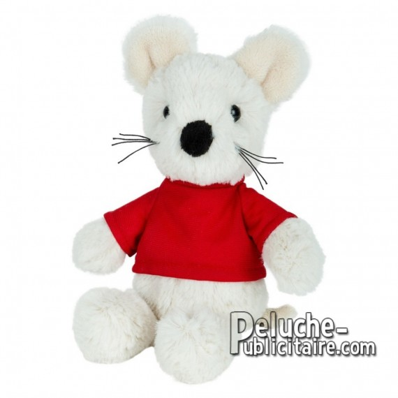 Buy Plush mouse 21 cm. Plush Advertising Mouse to Customize. Ref: 1243-XP