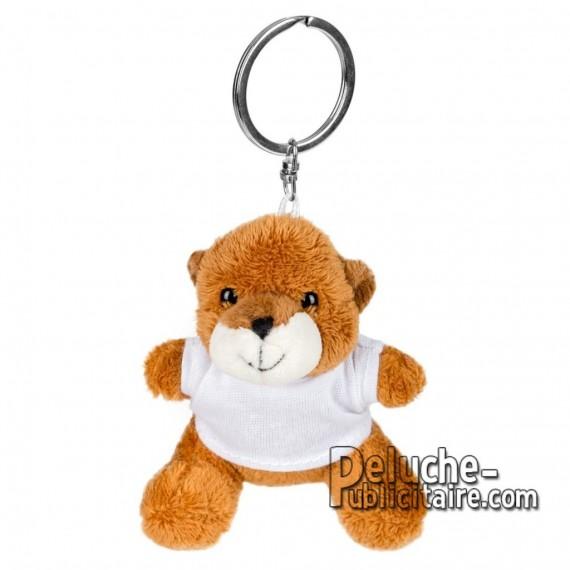 Achat Peluche Porte-clés ours 8 cm. Peluche Publicitaire ours à Personnaliser. Ref:XP-1244