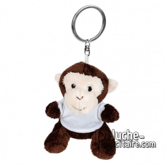 Buy Plush Keychain monkey 8 cm. Plush Advertising Monkey to Personalize. Ref: XP-1246