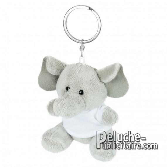 Buy Plush Keychain Elephant 8 cm.Plush Advertising Elephant to Personalize.Ref: XP-1247