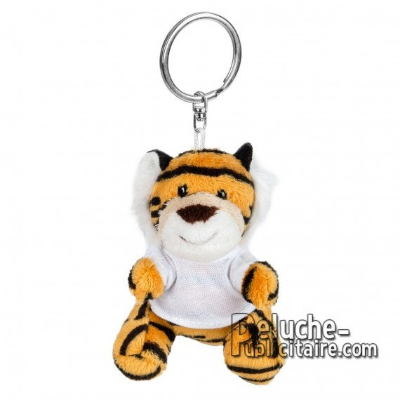 Buy Plush Keychain tiger 8 cm.Tiger Plush Toy to Personalize.Ref: XP-1249
