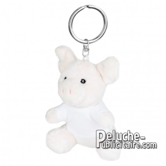 Buy Plush Keychain pig 8 cm. Advertising plush pig to Customize. Ref: XP-1252