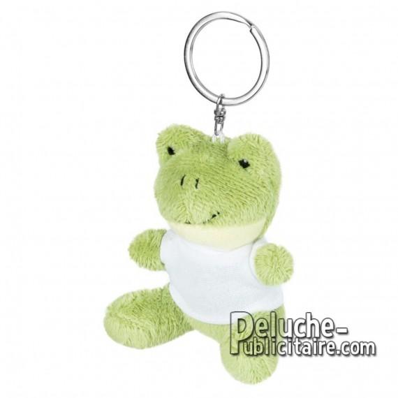 Achat Peluche grenouille 8 cm. Peluche Publicitaire grenouille à Personnaliser. Ref:XP-1255