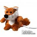 Fox plush customizable with logo.
