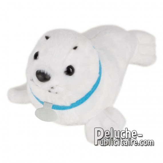 Buy Plush seal 25 cm. Plush Advertising Seal to Personalize. Ref: XP-1256