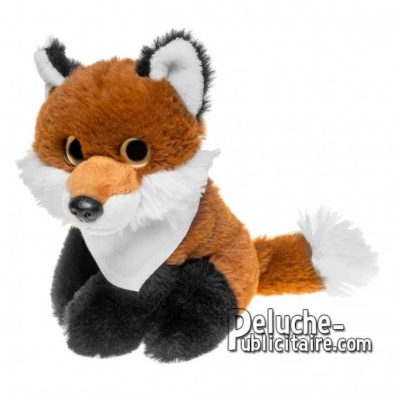 Buy Plush fox 14 cm.Advertising fox plush to personalize.Ref: 1257-XP