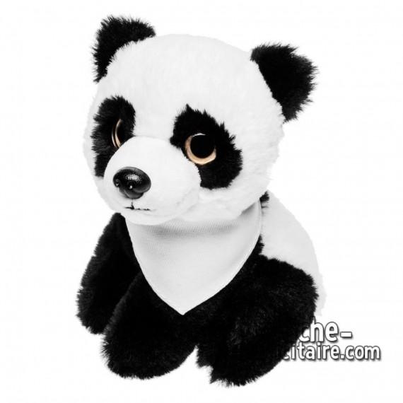 Achat Peluche panda 14 cm. Peluche Publicitaire panda à Personnaliser. Ref:XP-1258