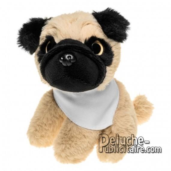 Achat Peluche chien 14 cm. Peluche Publicitaire chien à Personnaliser. Ref:XP-1259