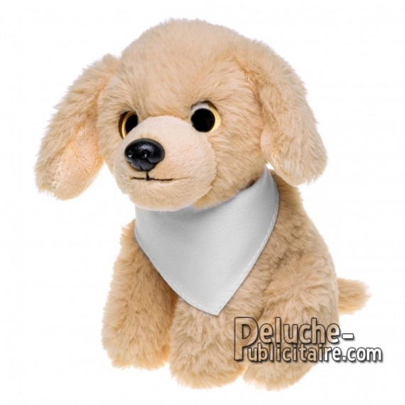 Purchase Stuffed dog 14 cm. Plush Advertising Dog to Personalize. Ref: XP-1261