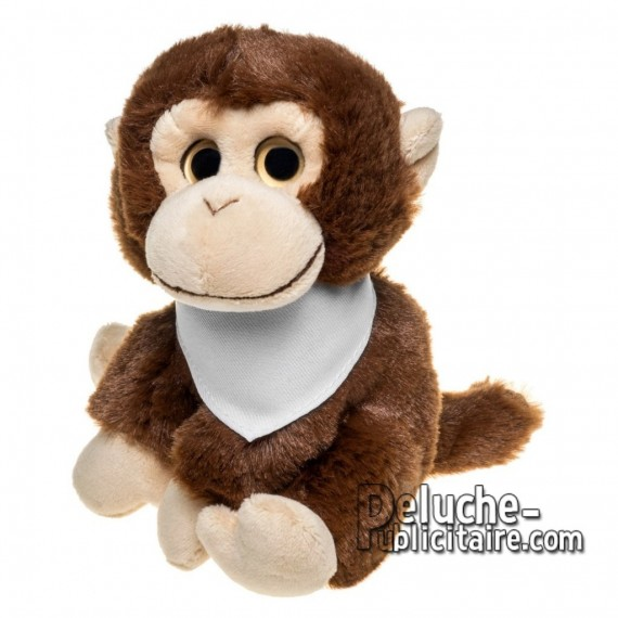 Buy Plush monkey 14 cm. Plush Advertising Monkey to Personalize. Ref: 1262-XP