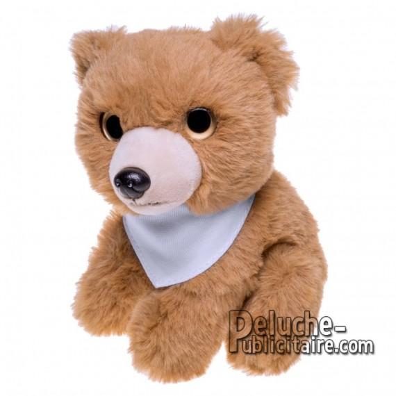 Achat Peluche ours 14 cm. Peluche Publicitaire ours à Personnaliser. Ref:XP-1264