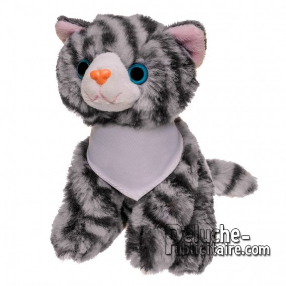 Buy Plush cat 14 cm. Plush Advertising Cat to Personalize. Ref: XP-1266