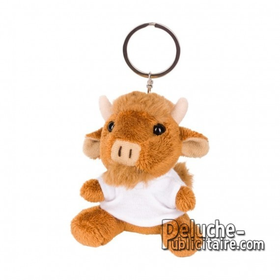 Buy Plush Keychain bull 8 cm. Bull Toy Plush to Personalize. Ref: 1268-XP