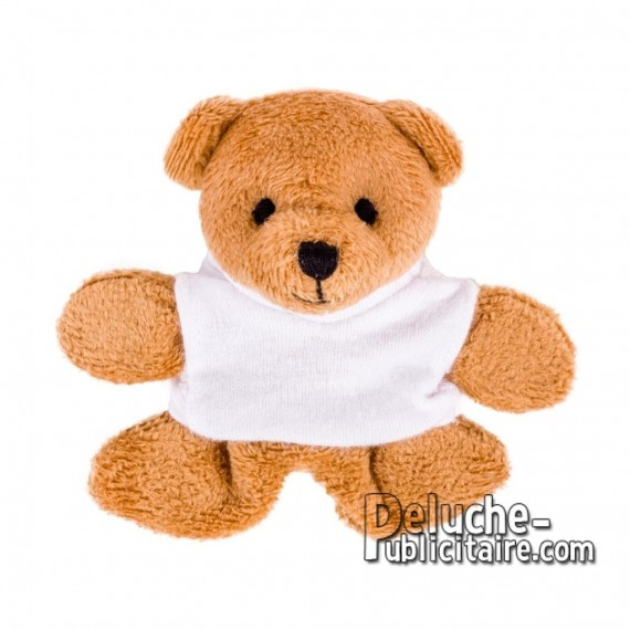 Buy Stuffed bear 9 cm. Plush Advertising Bear to Personalize. Ref: XP-1270