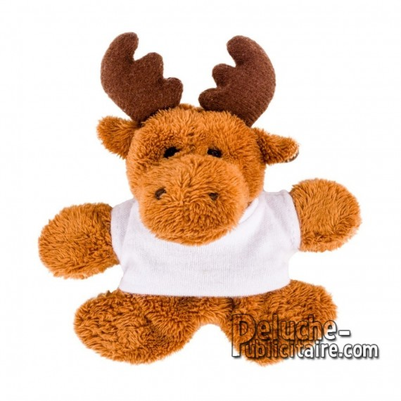 Buy Reel soft toy 9 cm. Plush Advertising Reindeer Personalized. Ref: 1272-XP