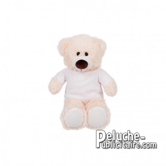 Achat Peluche ours 25 cm. Peluche Publicitaire ours à Personnaliser. Ref:XP-1278