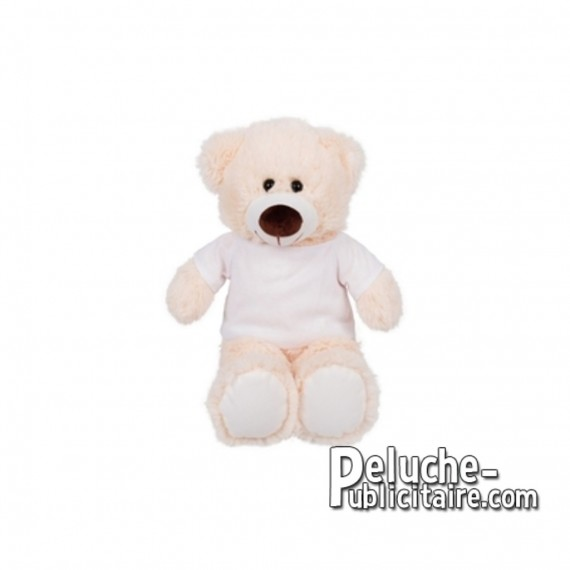Purchase Bear plush 25 cm.Plush Advertising Bear to Personalize.Ref: XP-1278