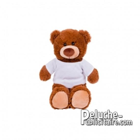 Achat Peluche ours 25 cm. Peluche Publicitaire ours à Personnaliser. Ref:XP-1279
