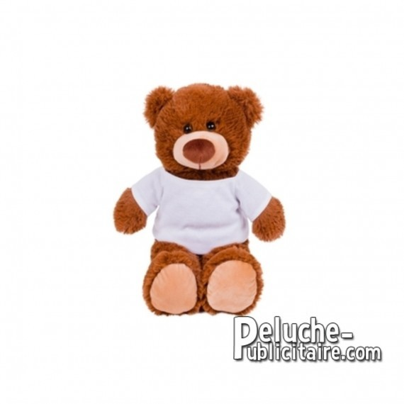 Purchase Bear plush 25 cm. Plush Advertising Bear to Personalize. Ref: 1279-XP