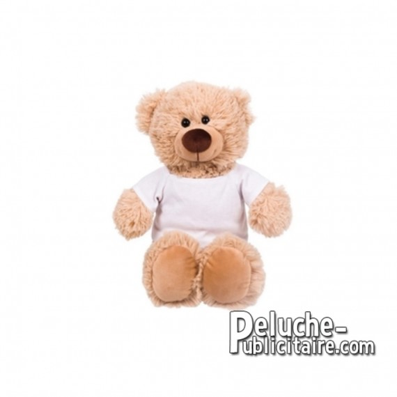 Achat Peluche ours 25 cm. Peluche Publicitaire ours à Personnaliser. Ref:XP-1280