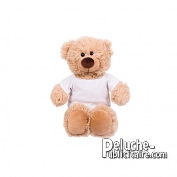 Purchase Bear plush 25 cm.Plush Advertising Bear to Personalize.Ref: XP-1280