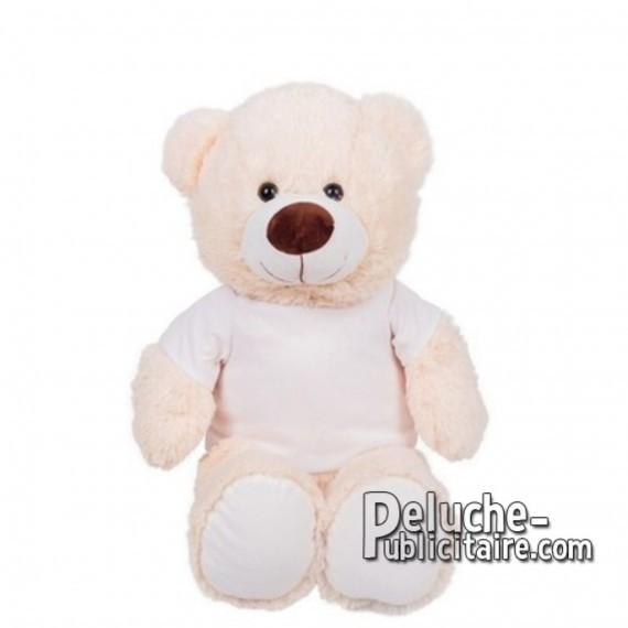 Achat Peluche ours 40 cm. Peluche Publicitaire ours à Personnaliser. Ref:XP-1281