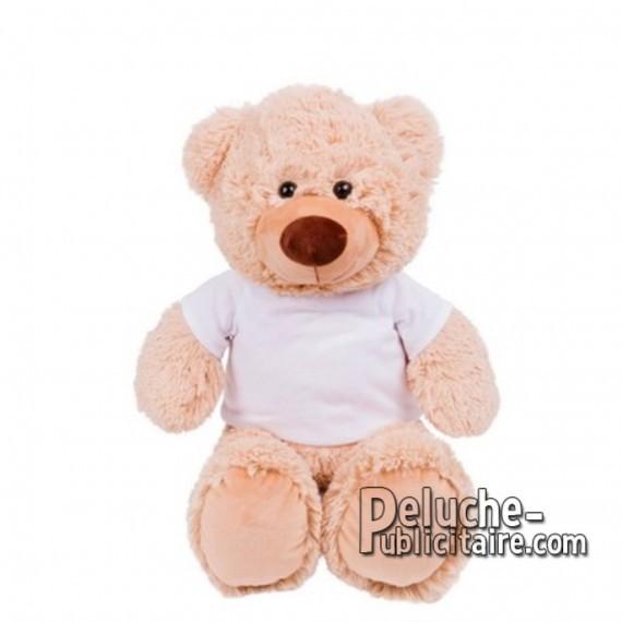 Achat Peluche ours 40 cm. Peluche Publicitaire ours à Personnaliser. Ref:XP-1283