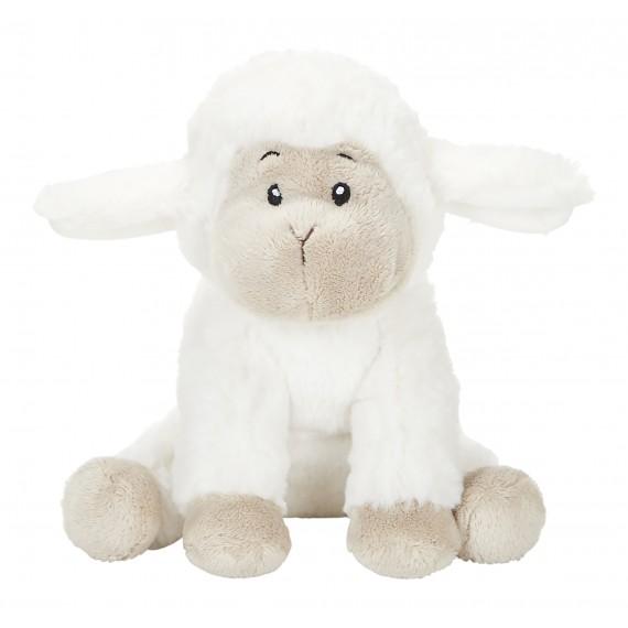 Achat peluche mouton blanc 18cm. Peluche personnalisée.