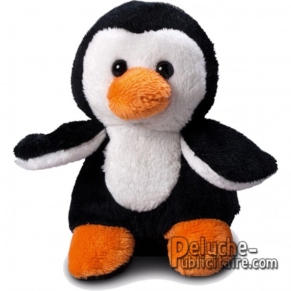 Achat Peluche Pingouin Uni. Peluche à Personnaliser.