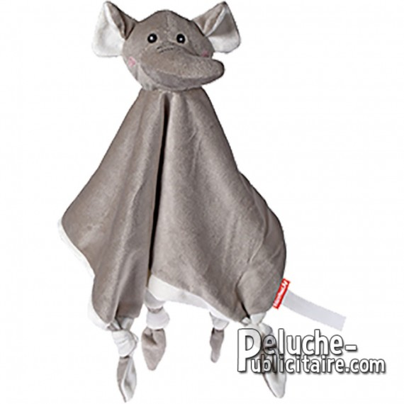 Buy Elephant Plush 28 cm. Plush to customize.