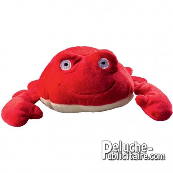 Achat Peluche Crabe 17 cm. Peluche à Personnaliser.