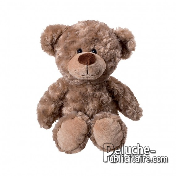 Purchase Bear Plush 45 cm. Plush to customize.