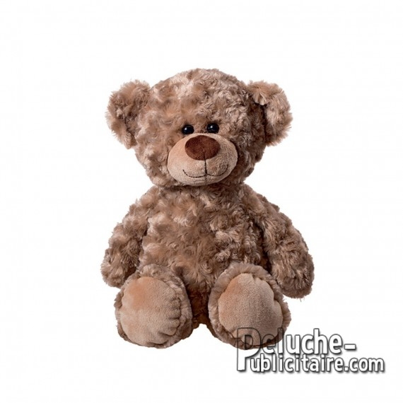 Purchase Bear Plush 35 cm.Plush to customize. Sitted position.