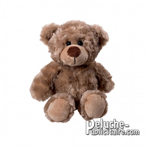 Teddy bear plush toy to customize with logo.