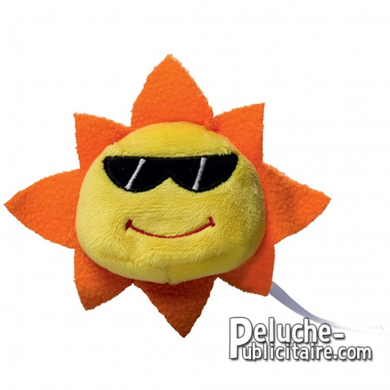 Purchase Sun Plush 7 cm. Plush to customize.