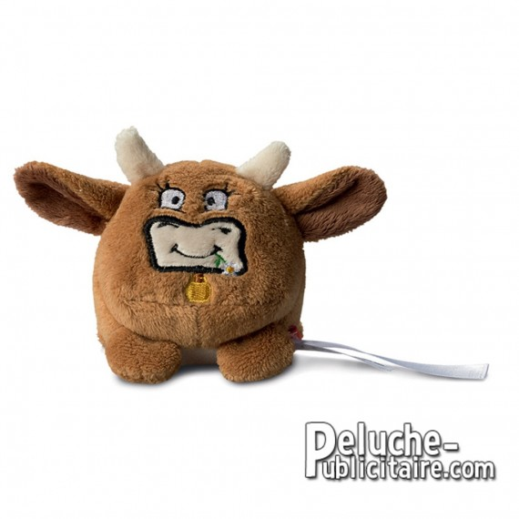 Purchase Stuffed Cow 7 cm.Plush to customize.
