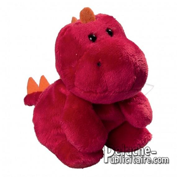 Achat Peluche Dragon 12 cm. Peluche à Personnaliser.