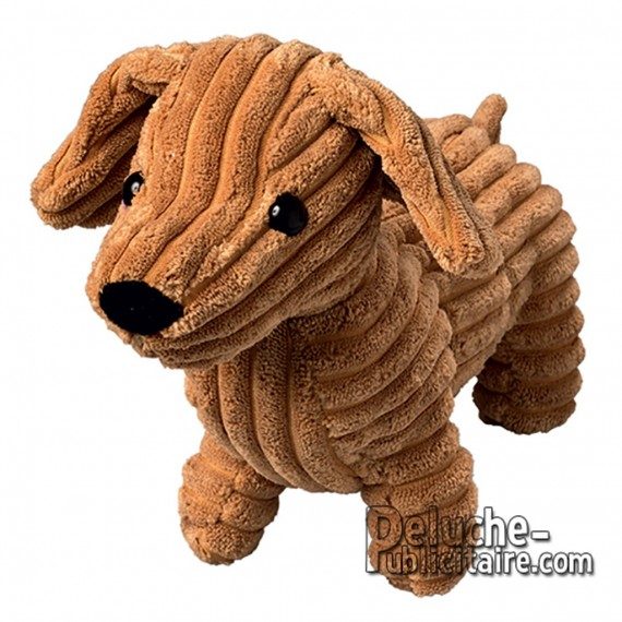 Buy Plush Dog 30 cm. Plush to customize.