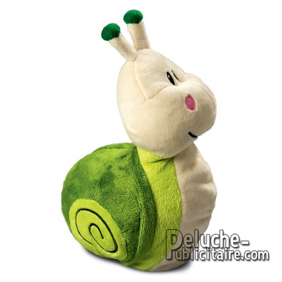 Purchase Snail Plush 20 cm. Plush to customize.